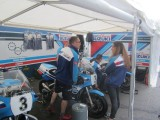 2017 Classic Manx TT with Team Classic Suzuki, Michael Dunlop , Lee Johnson,  Danny Web